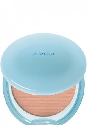 Матирующая компактная пудра Pureness № 40 Shiseido. Цвет: бесцветный