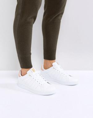 Бело-розовые кроссовки -Белый K-Swiss