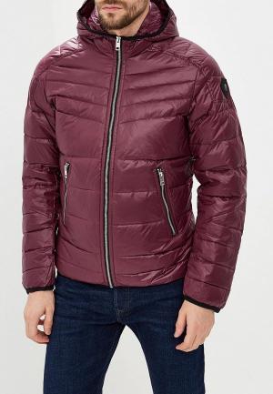 Куртка утепленная Diesel. Цвет: фиолетовый