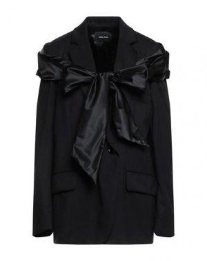Пиджак SIMONE ROCHA. Цвет: черный