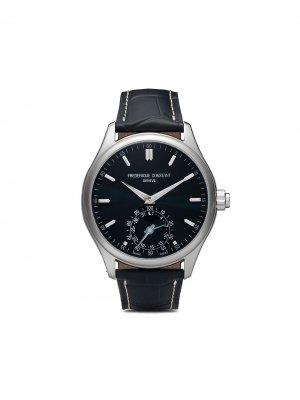 Наручные часы Horological Smartwatch Gents Classics 42 мм Frédérique Constant. Цвет: синий-blue dial with sunray decoration
