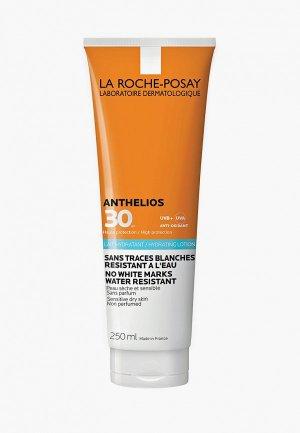 Молочко солнцезащитное La Roche-Posay для лица и тела SPF30, 250 мл. Цвет: белый