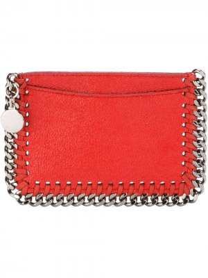 Визитница Falabella Stella McCartney. Цвет: красный
