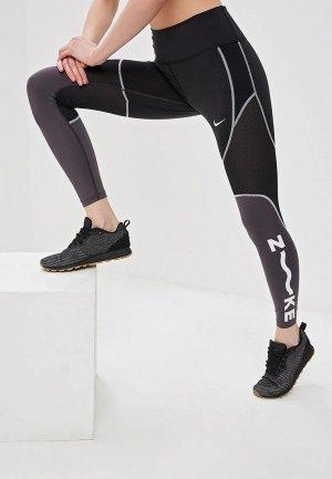 Тайтсы Nike ALL-IN WOMENS 7/8 TRAINING TIGHTS. Цвет: серый