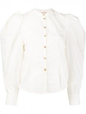 Блузка Willa с объемными рукавами Ulla Johnson. Цвет: белый