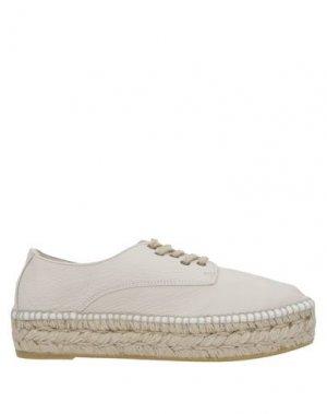 Низкие кеды и кроссовки ESPADRILLES. Цвет: белый