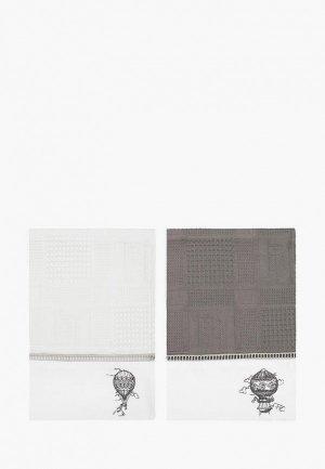 Набор полотенец кухонных Bellehome Aerostat, 40х70 см