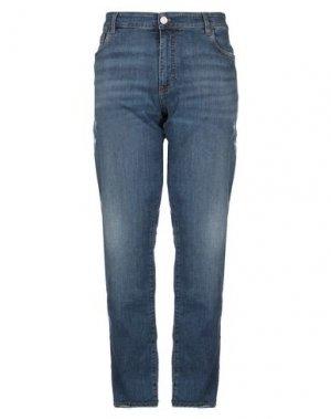 Джинсовые брюки BILLIONAIRE. Цвет: синий
