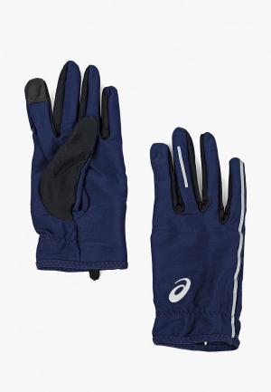 Перчатки ASICS LITE-SHOW GLOVES. Цвет: синий