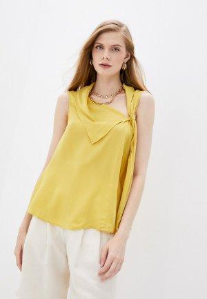Топ Max&Co. Цвет: желтый