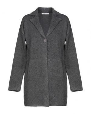 Пальто ANIS. Цвет: свинцово-серый