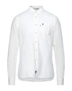Pубашка HENRI LLOYD. Цвет: белый