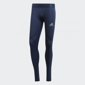 Тайтсы Alphaskin Sprint Performance adidas. Цвет: синий