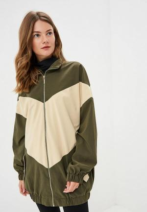 Куртка Elena Andriadi. Цвет: хаки