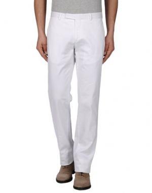 Классические брюки POLO RALPH LAUREN. Цвет: белый