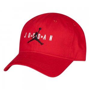 Jan Curve Brim Adjustable Hat Jordan. Цвет: красный