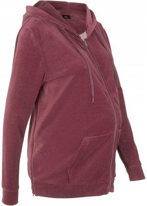 Куртка для беременных bonprix. Цвет: красный