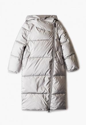 Куртка утепленная Baon. Цвет: серебряный