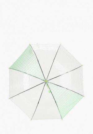 Зонт-трость Zemsa. Цвет: зеленый