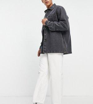 Белые очень широкие джинсы COLLUSION x014-Белый