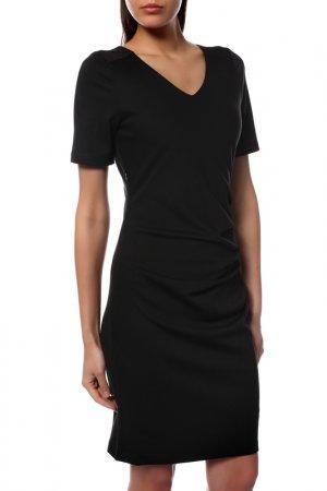 Платье Kaffe. Цвет: черный