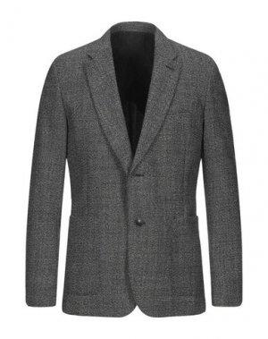 Пиджак AMI ALEXANDRE MATTIUSSI. Цвет: черный