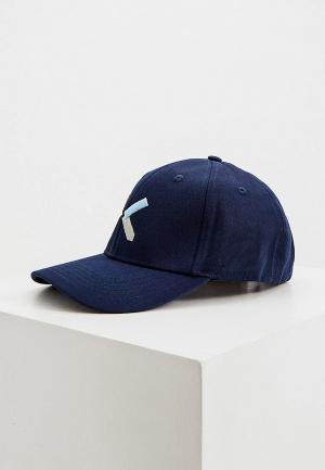 Бейсболка Kenzo. Цвет: синий