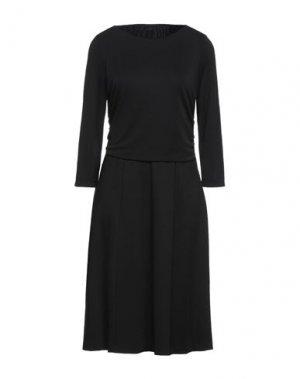 Платье миди ELIE TAHARI. Цвет: черный