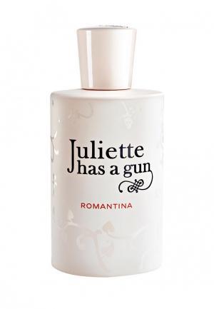 Парфюмерная вода Juliette Has a Gun ROMANTINA 100 мл. Цвет: прозрачный