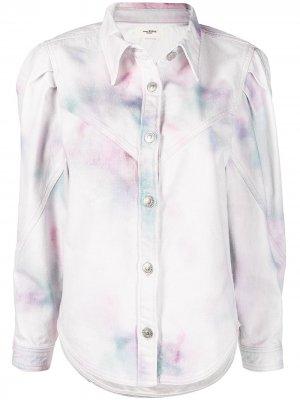 Джинсовая куртка Leona Isabel Marant Étoile. Цвет: розовый