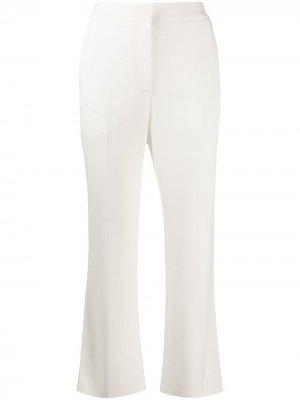 Укороченные брюки строгого кроя Roberto Cavalli. Цвет: белый