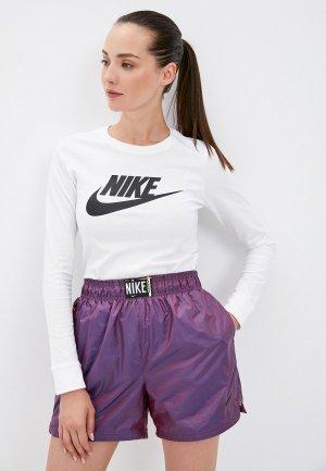 Лонгслив Nike W NSW TEE ESSNTL LS ICON FTR. Цвет: белый