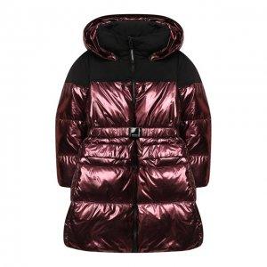 Пуховое пальто Freedomday. Цвет: красный