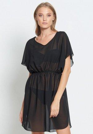 Платье пляжное Donatello Viorano Бомбей. Цвет: черный