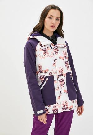 Куртка горнолыжная Burton WB EASTFALL JK. Цвет: фиолетовый