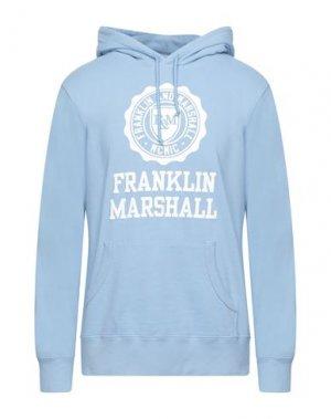 Толстовка FRANKLIN & MARSHALL. Цвет: небесно-голубой