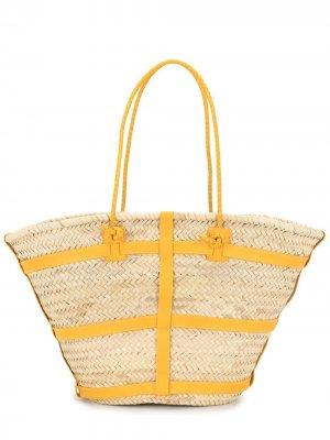 Большая сумка на плечо Watermill Altuzarra. Цвет: коричневый