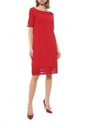Платье D.Exterior. Цвет: красный
