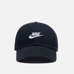 Кепка Heritage86 Futura Washed Nike. Цвет: чёрный
