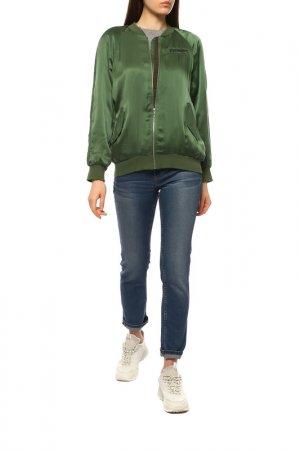 Куртка-бомбер Equipment. Цвет: хаки green