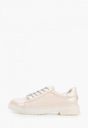 Ботинки Alessio Nesca. Цвет: бежевый