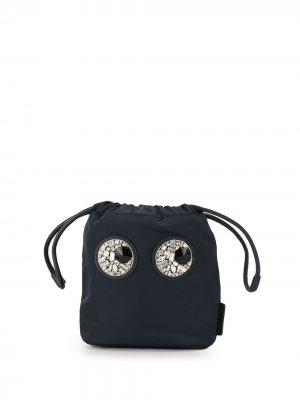 Декорированная сумка-ведро Anya Hindmarch