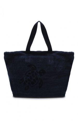 Текстильная пляжная сумка Vilebrequin. Цвет: синий
