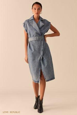Платье джинсовое женское LOVE REPUBLIC