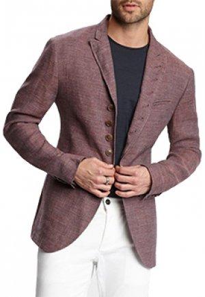 Пиджак JOHN VARVATOS. Цвет: бордовый