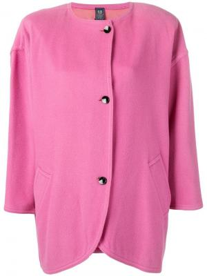 Куртка миди в стиле 1980-х Emanuel Ungaro Pre-Owned. Цвет: розовый