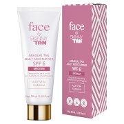 Дневное увлажняющее средство с эффектом постепенного загара Face by Gradual Tan Daily Moisturiser Medium 50 мл Skinny
