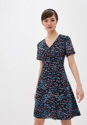 Платье Terekhov Girl. Цвет: разноцветный