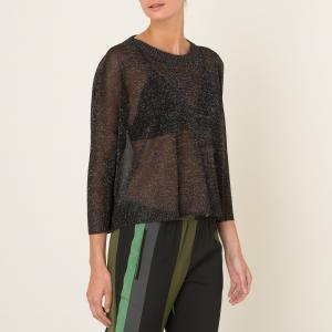 Пуловер SENIA MOMONI. Цвет: черный