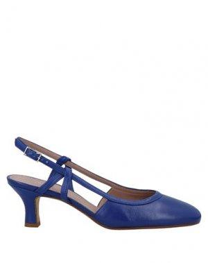 Туфли ANTONIO BARBATO. Цвет: ярко-синий